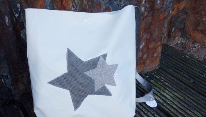 Ballonstofftasche dunkler Stern
