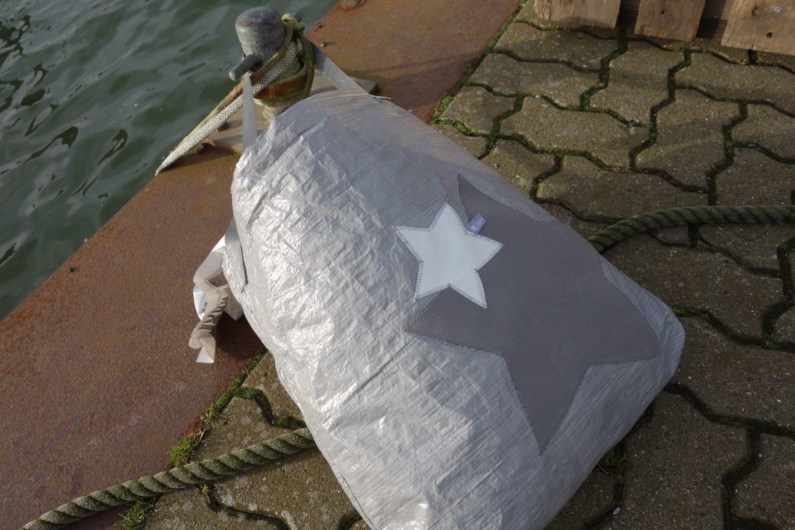 Upcycling   Tasche Aus Abdeckplane Sterne, IKEA Deluxe 2