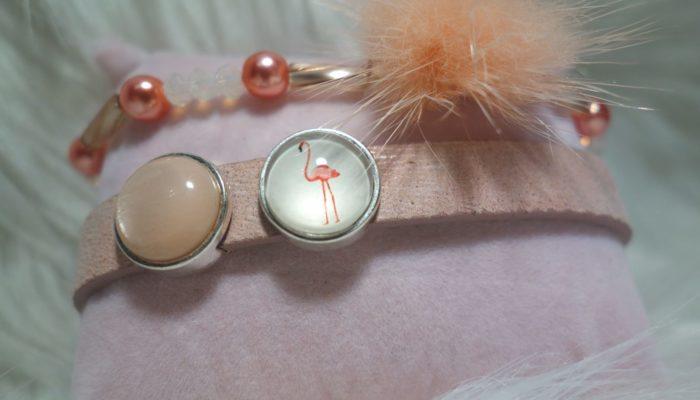 Armband Flamingo nah