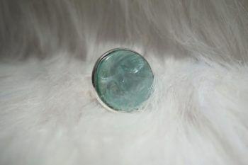 Ring türkis frontal