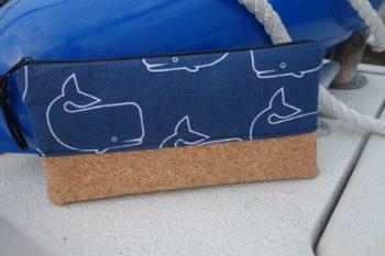 Federmäppchen Wal Rueckseite