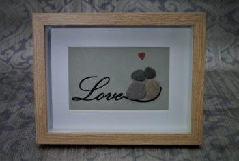 Steinbild Love