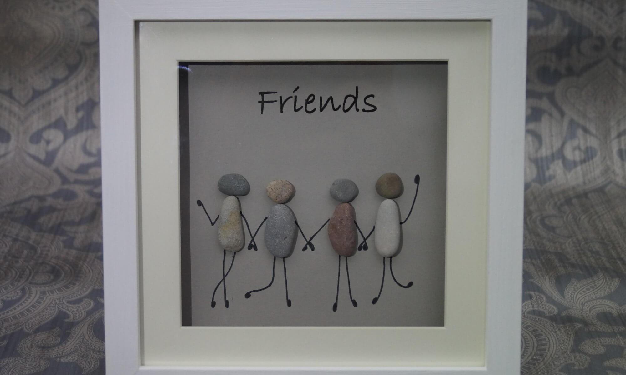 Steinbild Friends